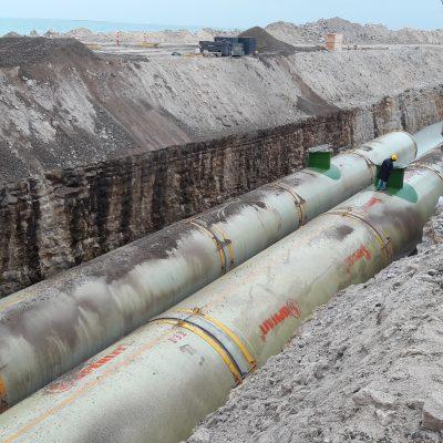 Türkmenistan Garabogaz Gübre Fabrikası - DN3100- DN3700