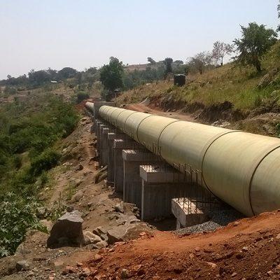 Uganda Rwimi HES Projesi: DN 1800-2000-2200