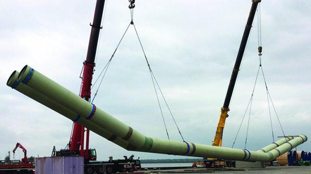 Proje Adı: Moerdijk - Nieuwe Keersluis Limmel Hollanda - DN1700