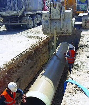 Tunus Gabes Şehri'nin Kanalizasyon Şebekesinin Rehabilitasyonu Projesi : DN 800