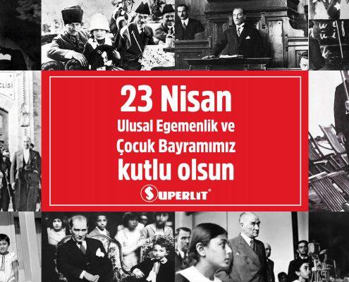 23 Nisan ve Atatürk - Ulusal egemenlik ve Çocuk Bayramı