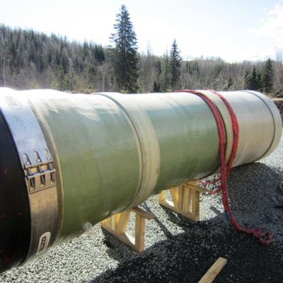 Norvec Veslefallet Hidroelektrik Santrali Projesi : DN1400-1600