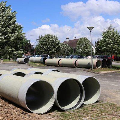 Fransa Orleans Kanalizasyon Projesi : DN1000